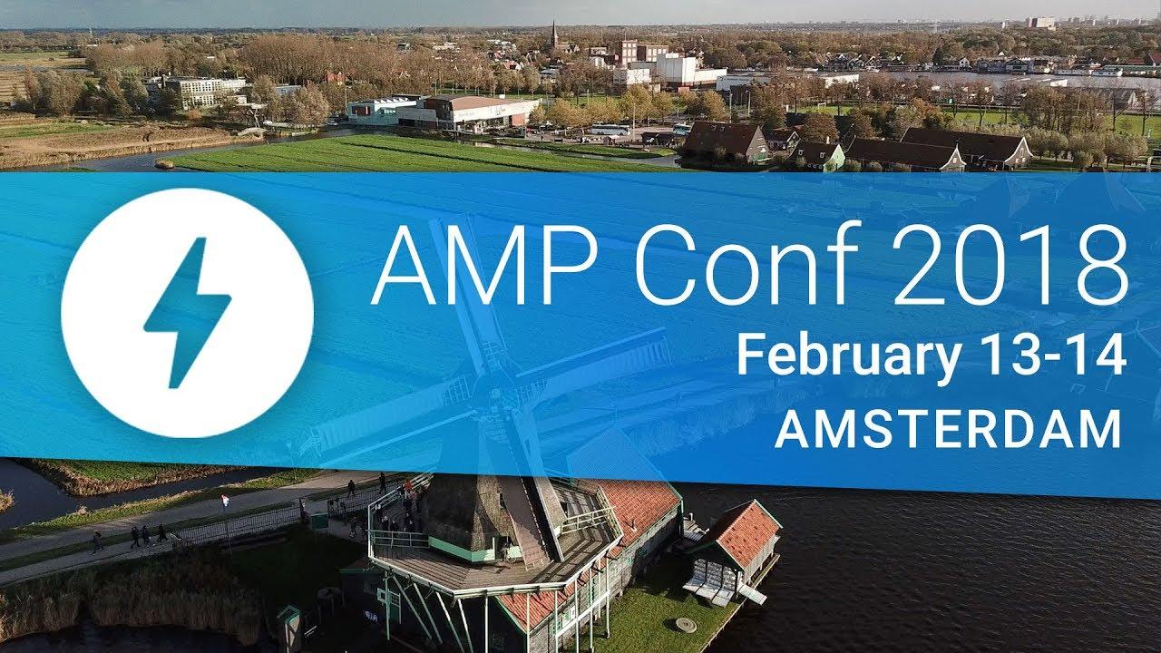 AMP conf 2018